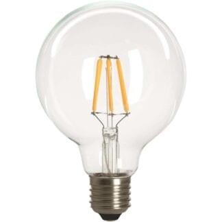 LED Filament Globe 95mm E27 4W Dimbar