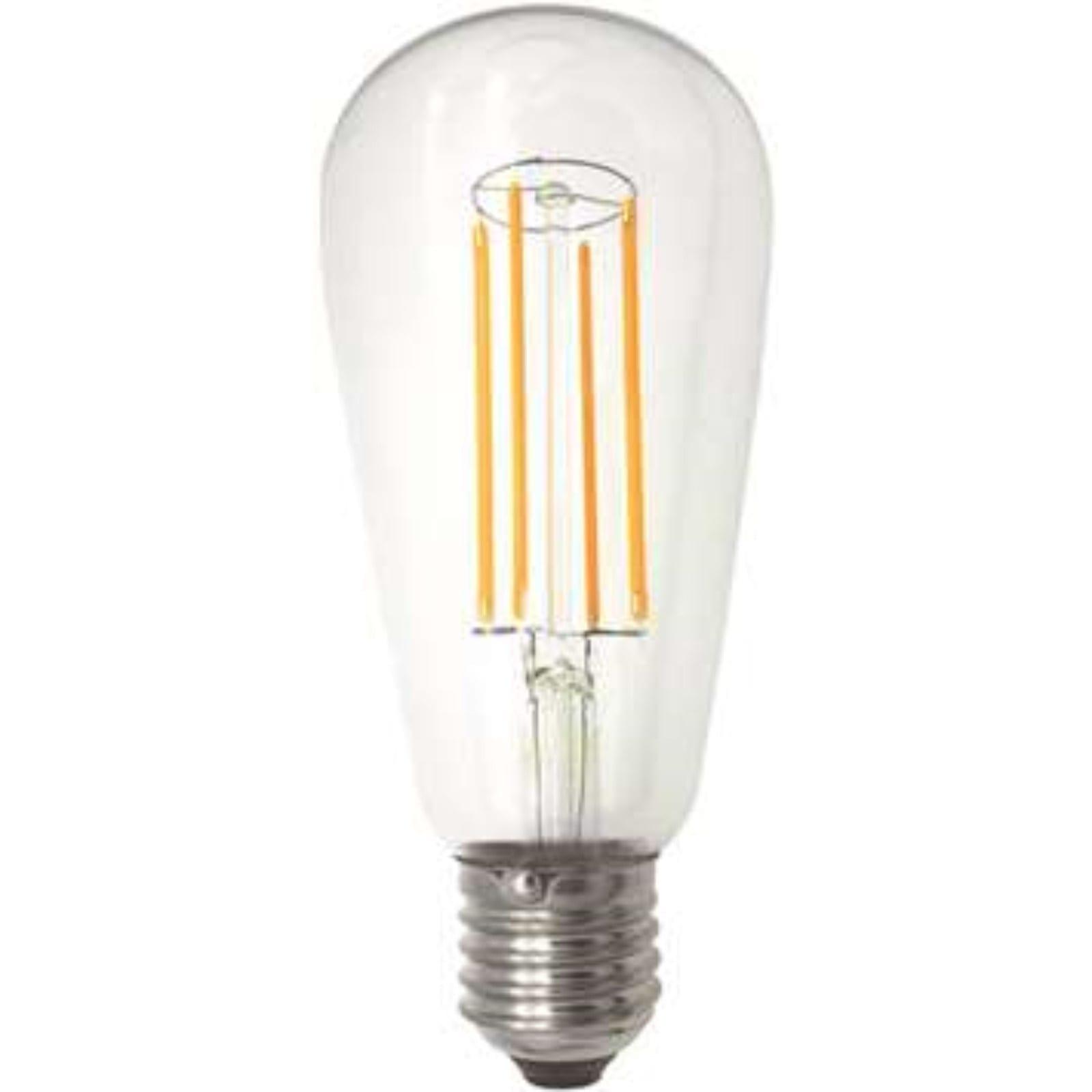 LED Filament Lanterne ST64 E27 5,5W 2100K 600LM Dimbar