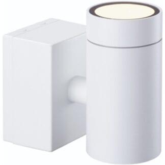EKLOF VI UTELAMPE VEGG 6W LED HVIT IP54