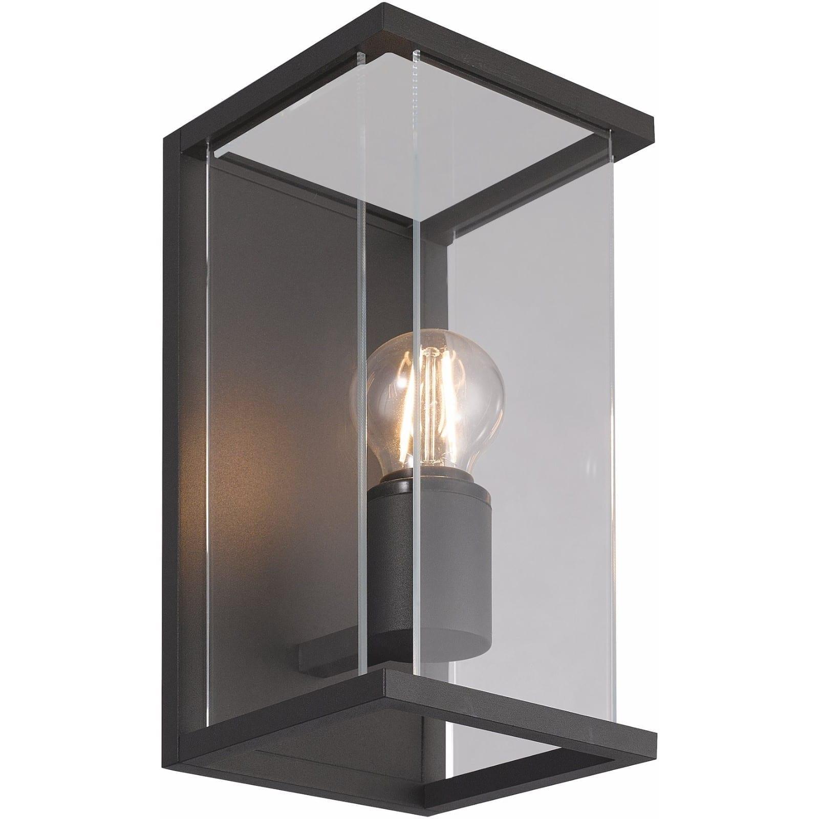 Bore III utelampe for vegg mørk grå IP54