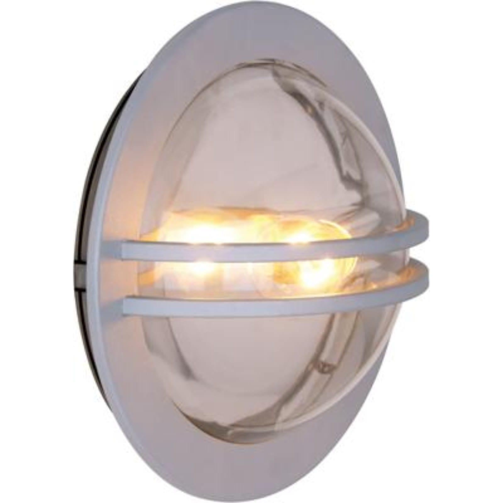 Landegode utelampe vegg/tak Grå 30 Cm