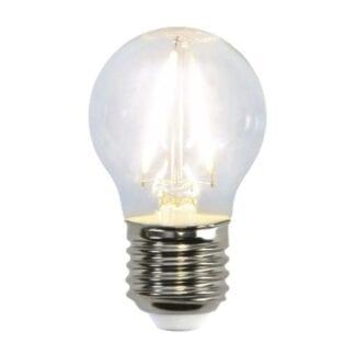 Illumination Krone klar 2W LED (25W) E27 2700K 250LM