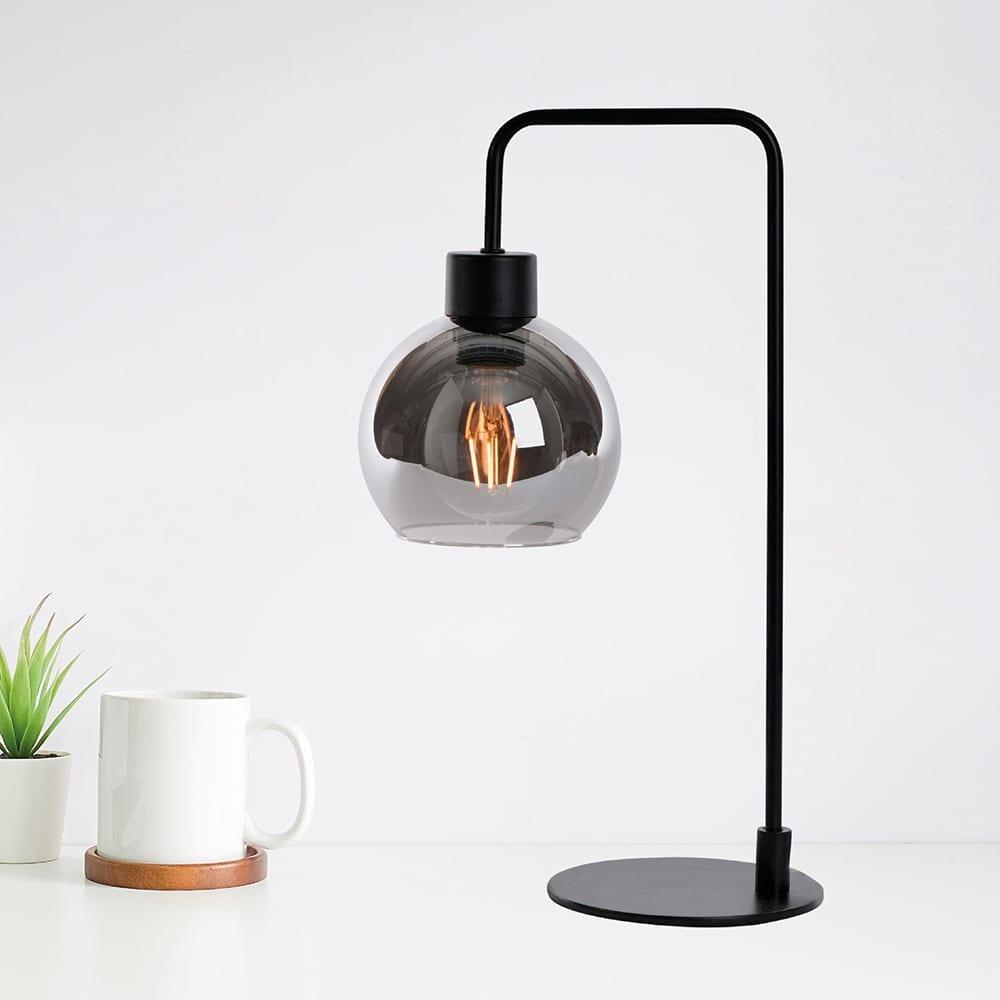 Marco bordlampe Røykfarget | Best på lys