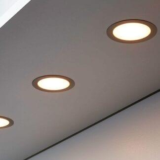 Radiant LED møbelspot for 55mm utfresing/hull