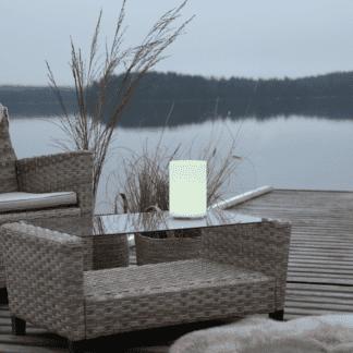 Twilights Utendørsdekorasjon RGB m/Fjerkontroll sylinder 20 Cm
