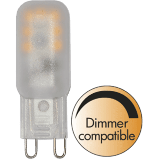 LED Matt G9 1,8W 2700K 140LM dimbar